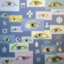 Unterschied, Blau, Kultur, Persönlichkeit
