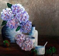 Acrylmalerei, Stillleben, Malerei, Malerei stilleben