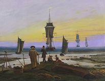 Malerei, Original von 1840, Alte meister, Reproduktion
