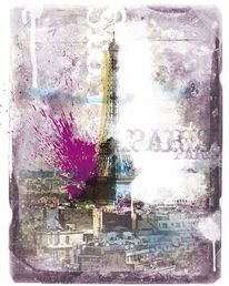 Eifelturm, Paris, Frankreich, Illustration