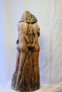 Keramik art skulptur, Plastik, Figural, Freundschaft