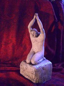 Skulptur keramikskulptur, Plastik, Figural