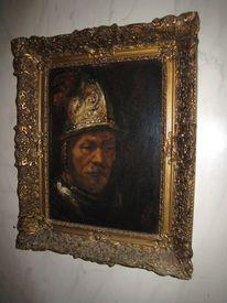Exemplar, Rembrandt study, Malerei