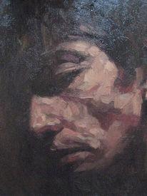 Frank de wit, Portrait, Malerei