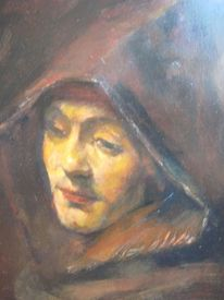 Rembrandt titus, Malerei