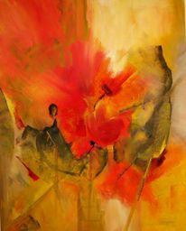 Blumen, Malerei