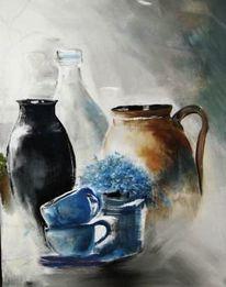 Stillleben, Malerei, Ausschnitt