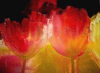 Malerei, Blumen, Tulpen