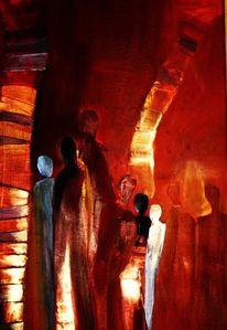 Menschen, Malerei