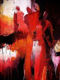 Verbindung, Malerei, Menschen