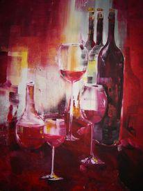 Weinprobe, Malerei