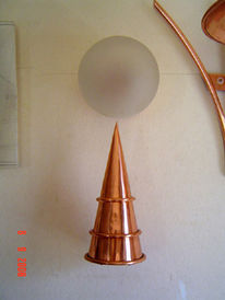 Licht, Kunsthandwerk, Kupfer, Handarbeit