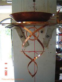 Kupfer, Handarbeit, Beleuchtung, Rustikal