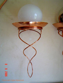 Rustikal, Beleuchtung, Licht, Kunsthandwerk