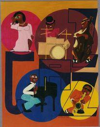 Jazz, Roland buchauer, Malen, Kunstvermittlung litzko