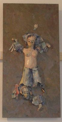 Skulptur, Kunstvermittlung litzko, Werner richter, Porzellan