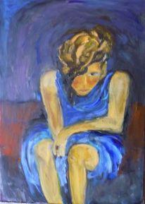 Ölmalerei, Malerei, Trauer