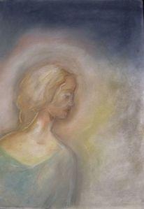 Pastellmalerei, Malerei