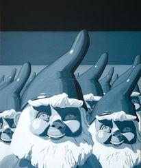 Armee, Heimat, Acrylmalerei, Masse