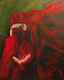 Pavian, Animalisch, Realismus, Aggressiv