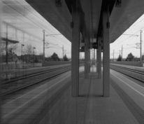 Fotografie, Gleis, Eisenbahn, Bahn
