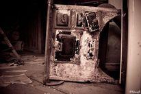 Zeit, Alt, Müll, Maschine