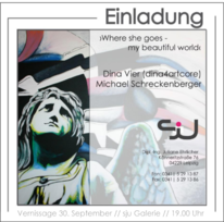 Farben, Dina4artcore, Ausstellung, Leipzig