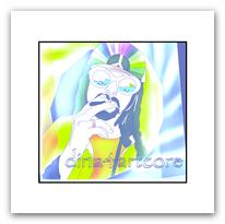 Grafics by dina4artcore, Farben, Figur, Show