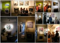 Malerei, Sjugalerie, Ausstellung, Vernissage