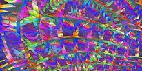 Raum, Wabe, Pseudo, Digitale kunst