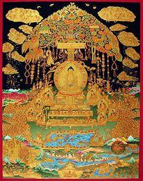 Sukhavati, Buddha, Rein, Zwischenparadies