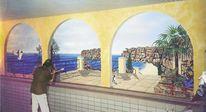 L´oeil, Illusionsmalerei, Wandmalerei, Trompe
