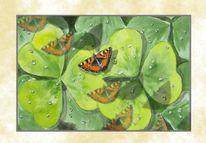 Klee, Schmetterling, Malerei