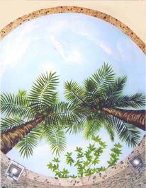 Wandmalerei, Illusionsmalerei, Deckenmalerei, Malerei