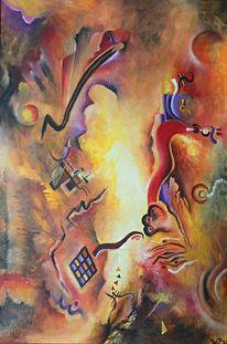 Farben, Abstrakt, Kandinsky, Malerei