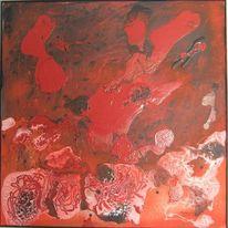 Vulkan, Rot, Lava, Vier elemente