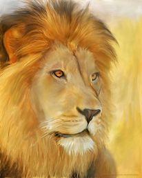Malerei tiere, König