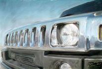 Technik, Auto, Hummer h3, Malerei