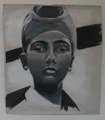 Malerei, Junge