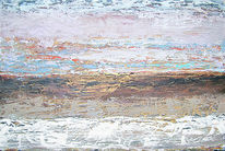 Landschaft, Strand, Horizont, Wallen