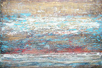 Strand, Horizont, Wallen, Landschaft