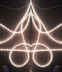 Spiegel, Effekt, Skulptur, Lichtschlauch