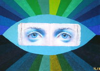 Augen, Himmel, Blau, Grün