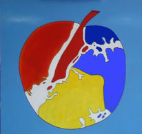 Halle saale, Big apple, New york, Pop art