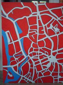 Händelstadt, Künstler halle saale, Hallescher künstler, Malerei