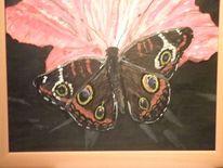 Schmetterling, Malerei, Blüte