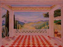 Malen, Malerei, Bramsche, Ölmalerei
