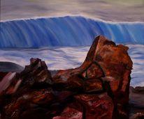 Landschaft, Ölmalerei, Malerei