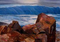 Malerei, Ölmalerei, Kalifornien, Acrylmalerei