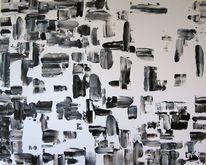 Abstrakt, Dekoration, Acrylmalerei, Malerei
